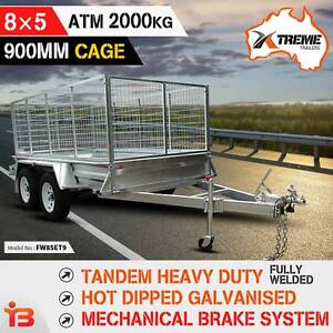 Get New 8X5 Tandem Axle Trailer from Xtreme Trailers Fairfield Fairfield Area Preview