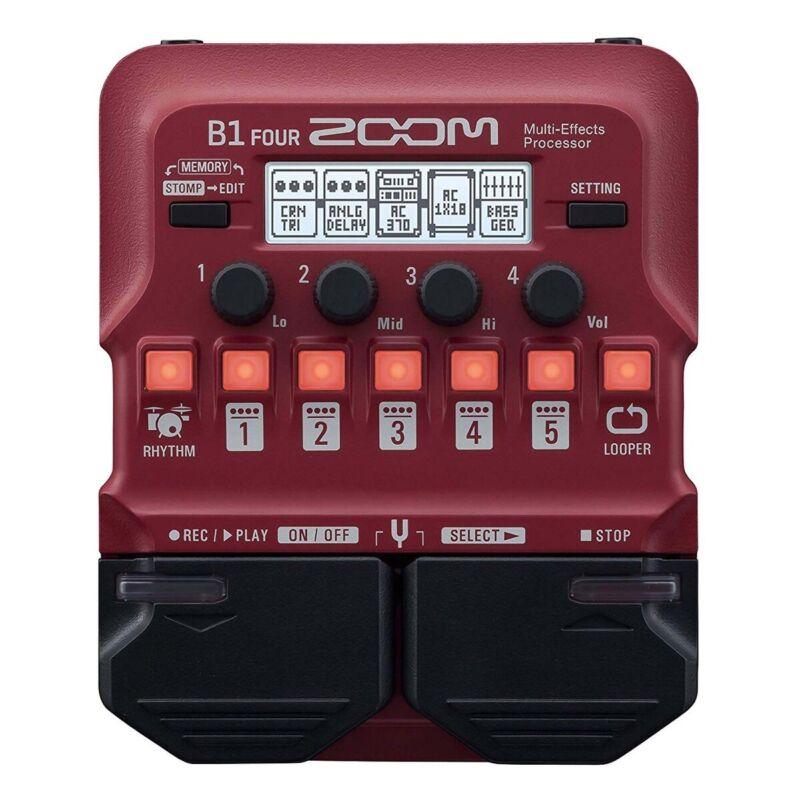Zoom B1 Four Bass Effects Processor