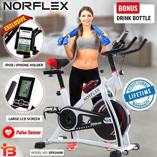 New Gym Cycle Spin Bike for Indoor Workout By NORFLX