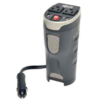 PV200CUSB 200W Car Inverter Cup Holder 12V 120V 2PT USB Char