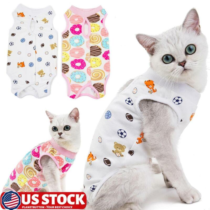 Cotton Pet Surgery Clothing Post-Operative Clothes Cat Recovery Protection Suit