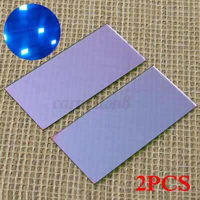 2x Blue Welding Lens 2 X 4.25 With Hardened Gold Filter For Welding P 2020