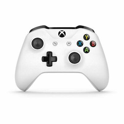 New Genuine Microsoft Xbox One S White Controller Wireless With 3.5mm Jack XBOX1