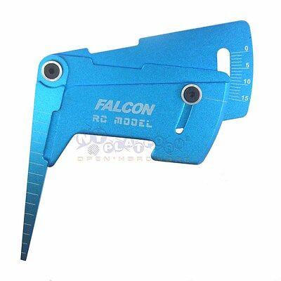 Adjustable Ruler Adjusting RC Car Height & Wheel Rim Camber 15° rRC Tools US