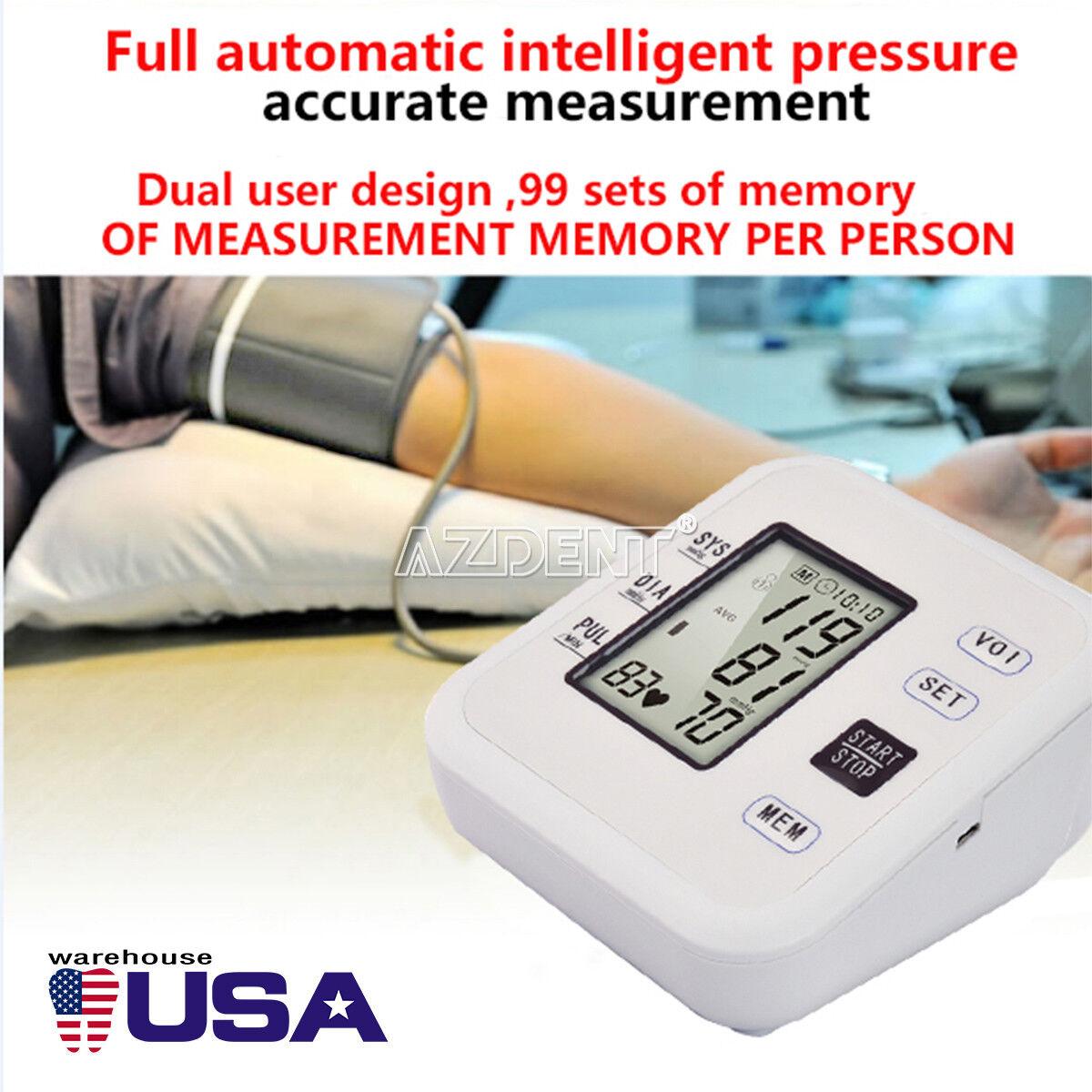 Automatic Upper Arm Blood Pressure Monitor Digital Machine S