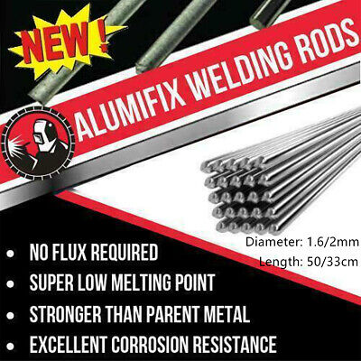1020pc 1.62.0mm Easy Aluminum Solder Melt Welding Flux Cored Rods Wire Brazing