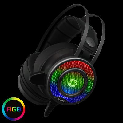 GAMEMAX G200 DEL BACKLIT GAMING HEADSET Noise Cancelling Ste
