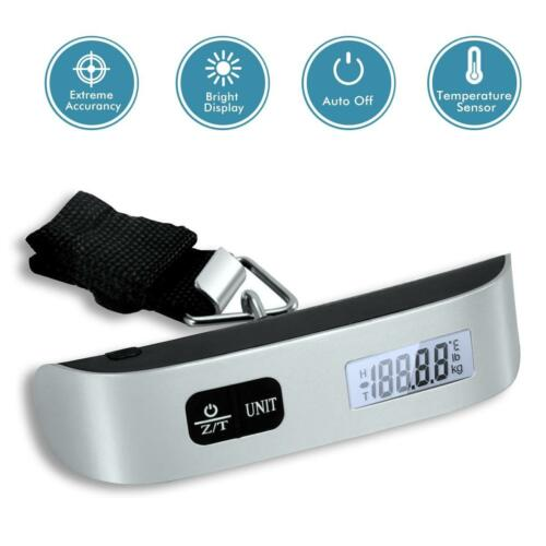Купить Portable Balance LCD Electronic Digital Hook Hanging Luggage Scale Weight 110lb