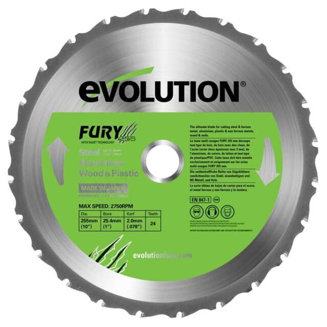 Evolution Fury3 XL & Fury5 Blade (255mm)