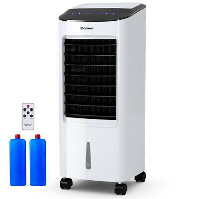 Evaporative Portable Air Conditioner Cooler Fan with Remote Control Indoor Room