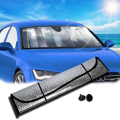 Auto Windshield Sunshade Reflective Sun - Shade for Car Cover Visor Wind (Windshield Visors For Cars)