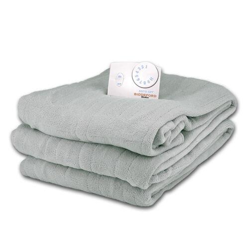 soft microplush twin size electric heated blanket