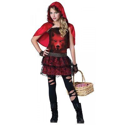 Little Red Riding Hood Costume Kids Tween Halloween Fancy Dress](Teen Little Red Riding Hood Costume)