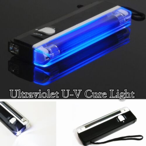 SUV Truck Car Van U-V Ultraviolet Cure Lamp - Glass Windshield Repair Tool Kit