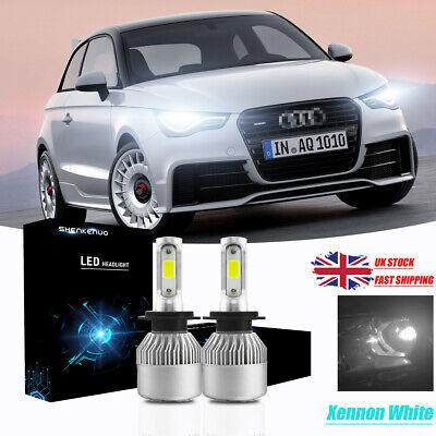 Audi A1 8XA 100w Super White Xenon HID Front Fog Light Bulbs Pair