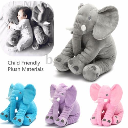 Baby Kid Children Elephant Doll Pillow Sofa Cushion Soft Plush Stuff Toys Gift