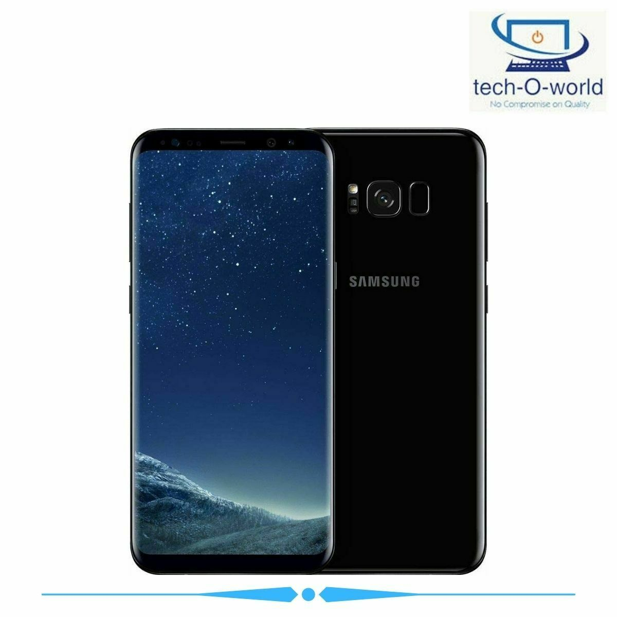 Android Phone - SIM Free Samsung Galaxy S8 5.8 Inch 64GB 12MP 4G Mobile Phone