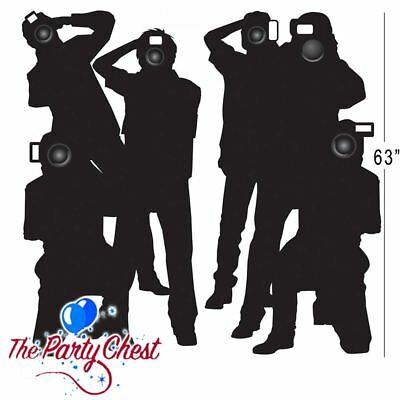 PAPARAZZI PROP PARTY SCENE SETTER ADD ON Hollywood VIP Wall Banner Decoration