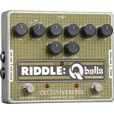 Electro Harmonix Riddle Q-Balls - Guitar Effect Pedal