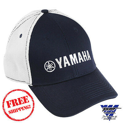 Yamaha Pure Contrast Hat Baseball Cap Navy White CRP-13HMS-N