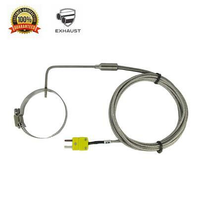 Egt K Type Thermocouple Sensors W Adjustable Clamp For Exhaust Gas Temperature