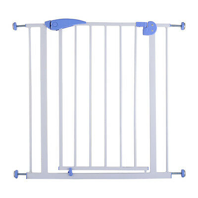 Baby Safety Gate Door Walk Through Child Toddler Pet Metal Easy Locking System