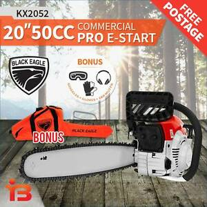 Discount on Black Eagle 50cc Petrol Chainsaw 510mm 2Stroke engine Fairfield Fairfield Area Preview
