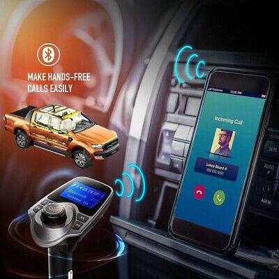 Accesorios Para Carro De Automovil Auto Musica Transmisor Bluetooth Cargador segunda mano  Embacar hacia Argentina