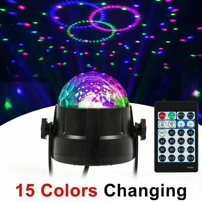 Disco Party Lights Strobe Led Dj Ball Indoor Сolored Bulb Dance Lamp Decoration Led Party Lights