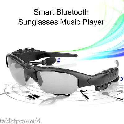 Bluetooth Sunglasses Talk Music Polarized Glasses Headset Pedometer Hands free