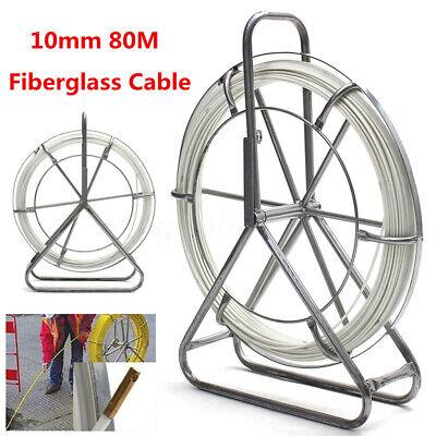 Usa Fish Tape Fiberglass Wire Cable Running Rod Duct Rodder Fishtape Puller 10mm