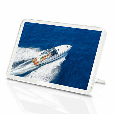 1 x Yacht Motor Boat Luxury Cool Relaxing Classic Fridge Magnet Kitchen...