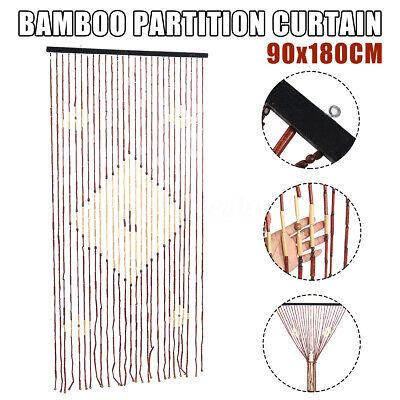 71 bamboo curtain natural beaded bedroom bathroom