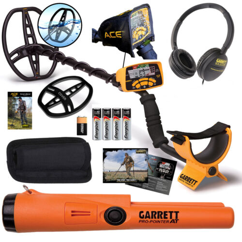 Garrett ACE 400 Metal Detector with Pro-Pointer AT Waterproof Pinpointer & more