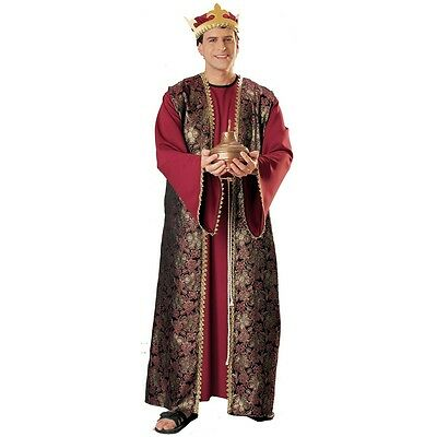 Gaspar Three Wise Men Costume Adult Biblical Nativity Pageant - Adult Nativity Costumes