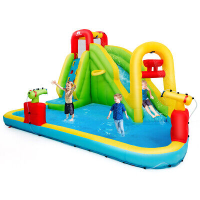 Inflatable Splash Water Bounce House Jump Slide Bouncer Kid  Without -