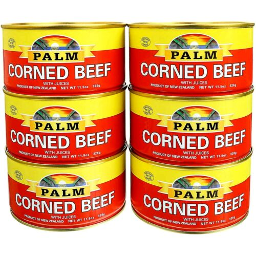 Palm Corned Beef with Juice 11.5 oz ( Pack of 6 )