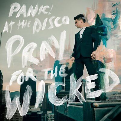 PANIC AT THE DISCO 'PRAY FOR THE WICKED' VINYL LP + Download (2018)