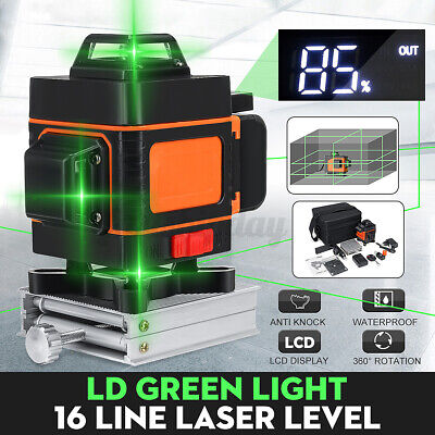 51216line 360 Rotary Green Laser Level Self Leveling Horizontal Vertical Y