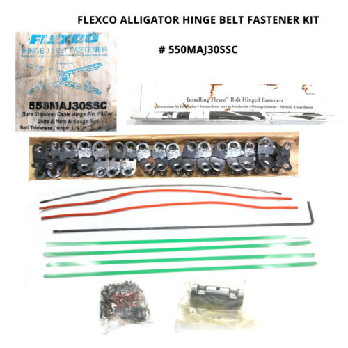 FLEXCO ALLIGATOR 550MAJ30SSC HINGE BELT FASTENER KIT