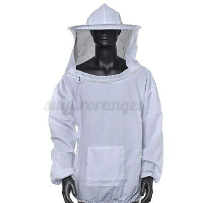 Beekeeping Jacket Veil Bee Keeping Suit Hat Pull Over Smock Protective Equip
