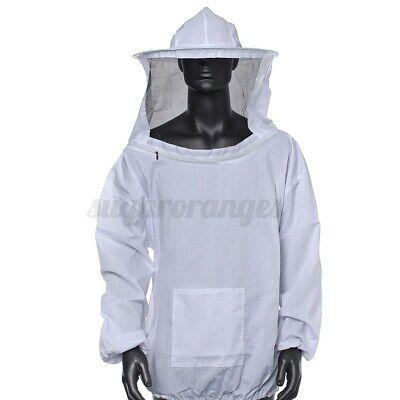 Beekeeping Jacket Veil Bee Keeping Suit Hat Pull Over Smock Protective Equi