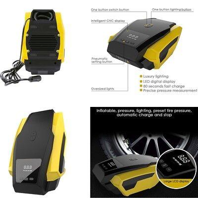 12V 120w Auto Electric Car Portable Air Compressor Wheel Tire Inflator Pump Tool