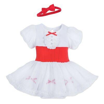 Disney Mary Poppins Costume (NWT Disney Store Mary Poppins Costume Bodysuit Set Baby)