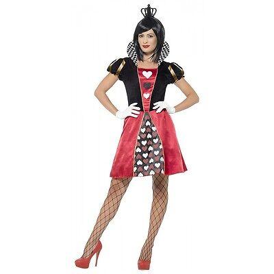 Carded Queen Costume Halloween Fancy Dress