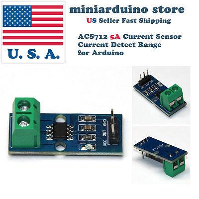 Acs712 5a Current Sensor Current Detect Range Module For Arduino New Design Usa