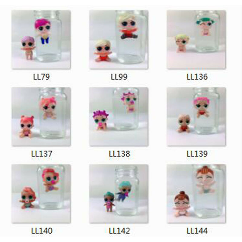 Color Change 4pcs Lol Surprise Doll Lil Sisters LIL Pearl Mermaid CHEER CAPTAIN