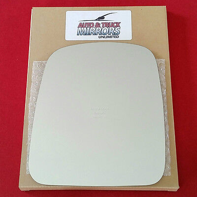 NEW Mirror Glass 03-08 CHEVY EXPRESS VAN Driver Side MANUAL **FAST -