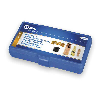 Miller Mdx 250 Acculock S .035 Consumables Kit 1880278