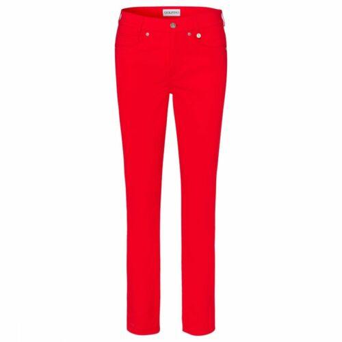 Golfino Ladies sofia 7/8 Trouser Red Pants New 4368023 368 slim fit sz 4 6 8 10